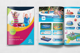 Flyer Template For Pages Toys Products Catalog Brochure Template 28 Pages