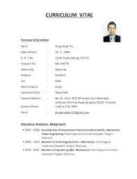 Resume Form Gorgeous Forms Of Resumes Forms Of Resume Form Resume Format Examples Resumes