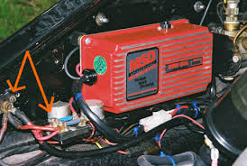 after market ignitions (msd crane etc) pelican parts technical bbs Crane Xr700 Wiring Diagram the copper colored screw pointed out on the left always has an unswitched 12v's going to it, so it is hot even when the engine is turned off and the key 1972 Datsun 510