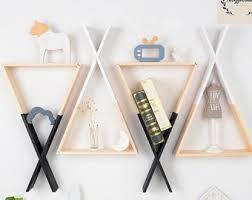 nordic style wall decor shelf pink