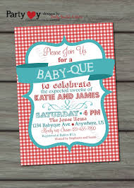 baby shower invitations couples baby shower bbq invitations ideas .