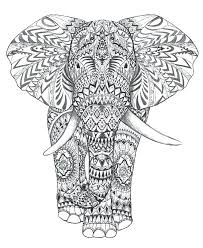 elephant color page free printable elephant coloring pages for s best of copy elephant face color