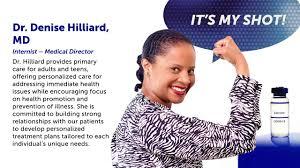 Ask the Experts: Dr. Denise Hilliard, Internist – Medical Director ...