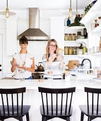 busy kitchen. Katie Raffetto And Lisa Ruff In Kitchen Busy