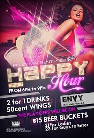 Club Flyers Design Online Happy Hour Club Flyer By Numbaz Deviantart Com On