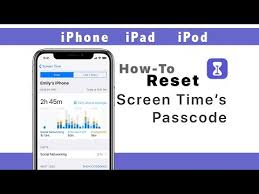 How To Reset The Screen Time Passcode On Your Iphone Ipad Or Ipod