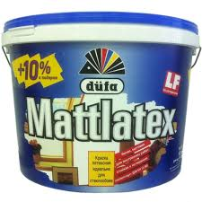<b>Краска</b> в/д <b>Dufa Mattlatex</b>, белая, 11 л в Москве – купить по низкой ...
