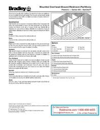 Bathroom Partitions Hardware New Catalog And ArticlesBradley Mills Detailed Toilet Partition
