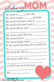 mother s day questionaire hilarious printable and students mother s day questionaire
