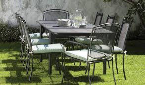 henley iron grey garden furniture