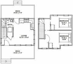 12 20 tiny house floor plans fresh 20 16 tiny house 630 sq ft