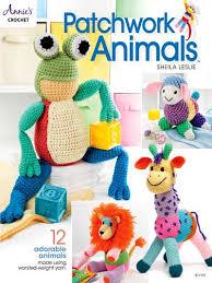 Pattern Book Stunning Patchwork Animals 48 Adorable Animals Crochet Pattern Book
