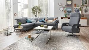 Interliving Sofa Serie 4101 Eckkombination 8882 Jeansblauer Bezug Vintage Metallfüße Stellfläche Ca 221 X 283 Cm