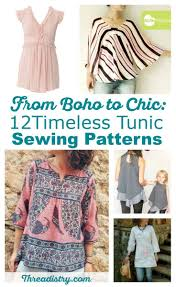 Tunic Sewing Pattern Magnificent From Boho To Chic 48 Timeless Tunic Sewing Patterns