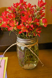 Mason Jars Decorated With Twine Mothers Day Centerpiece Blissfully Domestic 35