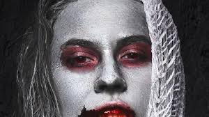 red rimmed eye corpse look