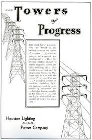 1931 houston lighting and power company ad