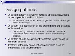 Oop Design Patterns Interesting Object Oriented Design