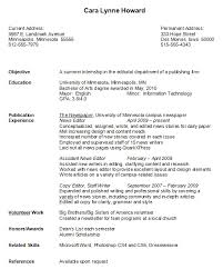 Gallery Of Resume Samples For College Students
