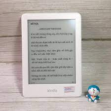 Máy Nhật Cũ] Máy Đọc Sách Kindle Basic Gen 4 10th Code 0105