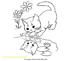 Coloring Pages Cute Baby Animals Coloring Pages Animal Sheets