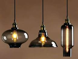 brown pendant light new glass lights large size of important bell drum shade