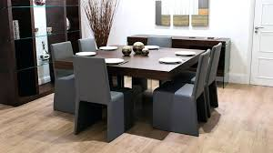 8 seat dining set 8 square dark wood dining table and chairs funky glass legs in seat designs 6 amelia 8 seat rattan dining set