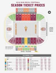 Sun Devil Football Stadium Seating Chart Footballupdate