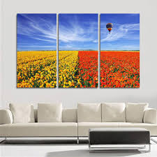 Paintings For Living Room Wall Canvas Painting Unframed Flower Wall Pictures For Living Room Hd
