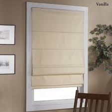 Home Decoration Decorating Stunning Blackout Roman Shades For Elegant Home