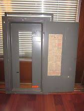 electrical panel cover federal pacific electric fuse panel lid cover 150 amp cat 1512 66 fpe