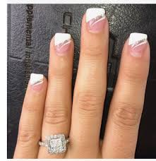 French Gel Nail Designs Fancy French Manicure Simple Nail Art Designs Gel Nails