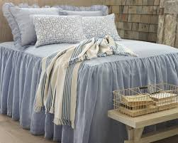 Cool bed sheets for summer Rough Linen Keep It Cool The Perfect Summer Bed Fresh American Style Annie Selke Keep It Cool The Perfect Summer Bed Fresh American Style