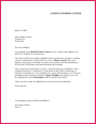 A Cover Letter For A Job Application Sample Cover Letter For Job Sop Examples