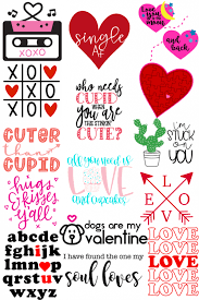 Png file (individually saved) 3. 16 Free Svg Files For Valentine S Day The Kingston Home
