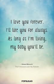 Quotes About I Love You Forever 40 Quotes Mesmerizing I Ll Love You Forever Quote