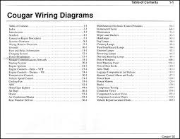 2002 mercury cougar wiring diagram grounds wiring diagram \u2022 2000 mercury cougar ignition switch wiring diagram 2002 mercury cougar wiring diagram manual original rh faxonautoliterature com 2001 mercury sable engine diagram for mercury cougar fuse diagram