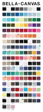Bella Color Chart Color Charts Kolby Lane Designs