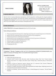 A Good Resume Format Stunning Great Resume Formats Great Resume Samples Inspirational Innovative