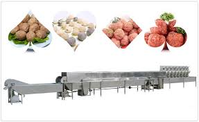 Automatic Meatball Production Plant