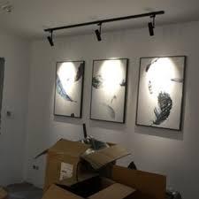 track lighting for art. Track Lighting 3W 5W 7W 10W 12W COB LED Ceiling Light Spot Wall Lamp Spotlight Tracking AC110V/240V-in From Lights \u0026 On For Art