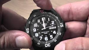 casio mrw 200h 1bv quartz analog sports watch unboxing
