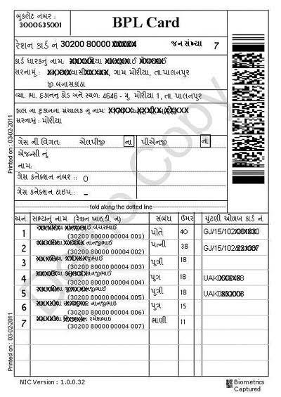 BPL Ration Card List 2021