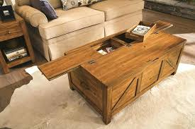 table coffee tables trunk end table storage steamer reclaimed wood with drawers square mango