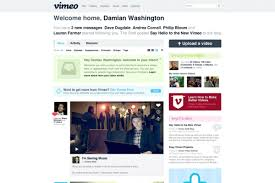 Vimeo Design Vimeo Redesign Offers Cleaner Interface Bigger Videos