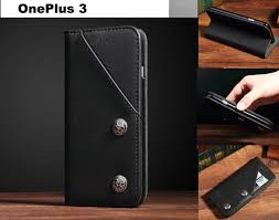 oneplus 3 ultra slim retro leather wallet case 2 cards magnet blk trade me