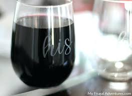 how to monogram wine glasses best personalize personalized india