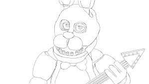 Dazzling Ideas Fnaf Coloring Pages Bonnie 20 Awesome Sister Location