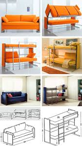 transforming bunk bed couch might be the coolest ever techeblog transforming bunk bed couch home pictures