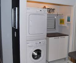 Room  laundry room stackable washer dryer ...